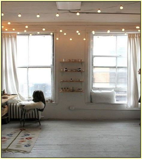 17 best ideas about indoor string lights on