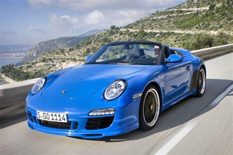 2011 Porsche 997 Speedster by Porsche 911 997 Cabriolet Speedster 2011 Parts Specs