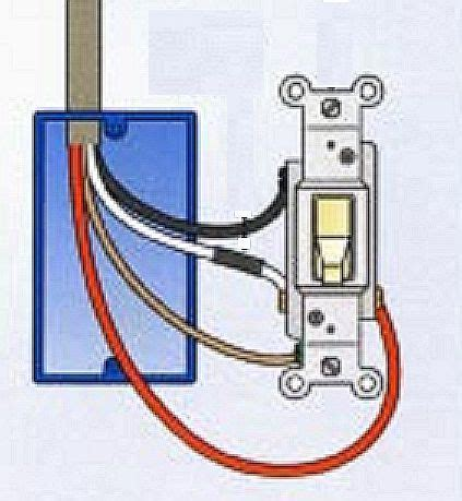 where to connect the wire to a light switch the silicon underground