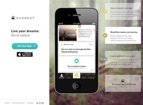 Mobile Web Design Inspiration by 15 Beautiful Mobile App Websites For Design Inspiration