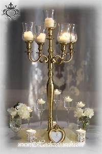 Glasaufsatz Für Kerzenleuchter : tischdeko mit kerzenleuchter kerzenst nder ~ Indierocktalk.com Haus und Dekorationen