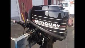 6m4284 Used 1988 Mercury 8mh 8hp 2