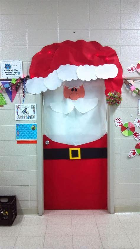the door santa c 243 mo decorar una puerta en navidad solountip