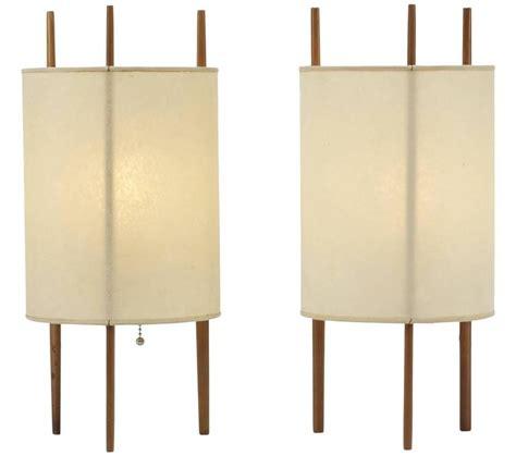 cylinder l shades for table ls isamu noguchi cylinder ls cherrywood and fiberglass