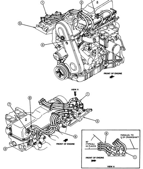 Ford Ranger 4 0 Engine Exploded Diagram by 2000 Ford Ranger Engine Diagram Automotive Parts Diagram