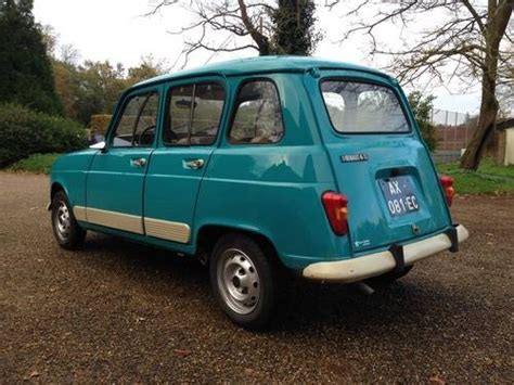 Renault 4 For Sale by For Sale 1986 Renault 4 Classic Cars Hq