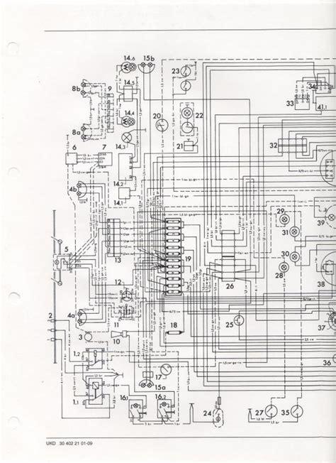 wiring diagram or color breakdown 1970 406 mercedes