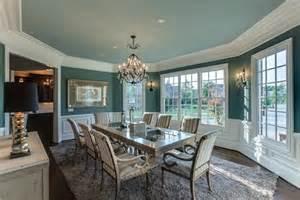 Home Design Exles Modern Teal Dining Room Home Design Exles