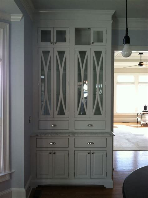 custom made cabinet doors hand made china cabinet with elliptical door mullions by