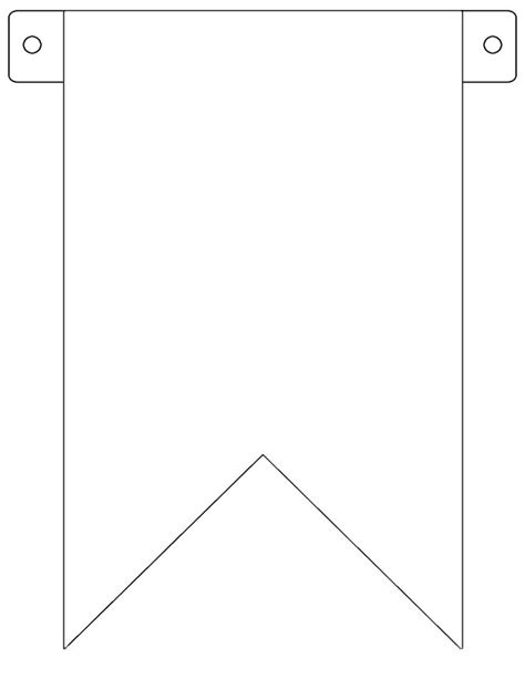 free printable banner templates banner flag template free to use patterns print on and paper