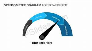 Speedometer Diagram For Powerpoint