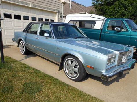 Dodge Diplomat For Sale by Dodge Diplomat For Sale Savings From 1 965