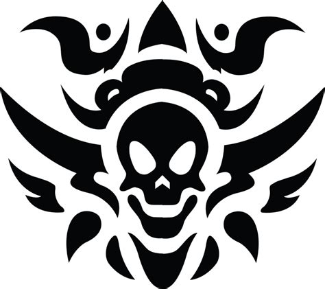 skull tattoo png transparent  images png