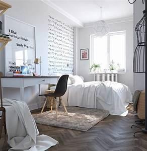 Schlafzimmer skandinavisch einrichten 40 tolle for Schlafzimmer skandinavisch