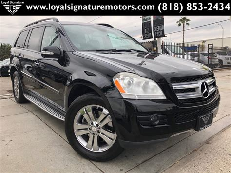 Finished in black over black leather. Used 2008 Mercedes-Benz GL-Class GL 450 4MATIC For Sale ...
