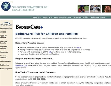 badgercare phone number wisconsin assistance programs state rx plans