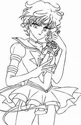 Coloring Sailor Moon Pages Saturn Crystal Uranus Colouring Pluto Neptune Ausmalbilder Template Azcoloring Popular Coloringhome Stars Adult Jupiter Mercury sketch template
