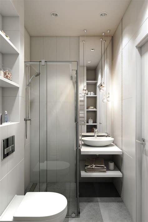 Modern apartment 2 bedrooms 1 bathroom. 2 Small Apartment with Modern Minimalist Interior Design ...