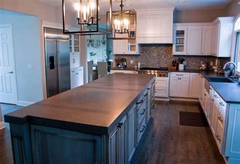 light kitchen countertops 3 quot apron edge kitchen countertops traditional kitchen 3749