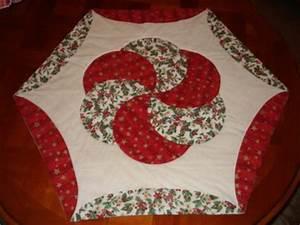 Tapis De Noel : patchwork tapis de noel fleur de patch ~ Teatrodelosmanantiales.com Idées de Décoration