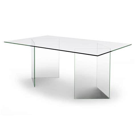 table bureau verre