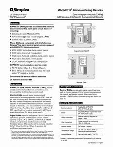 Simplex 4100 Installation Manual Wiring Diagram