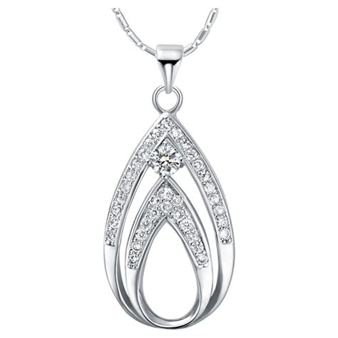 Aliexpresscom  Buy Sterling Silver Jewelry Necklaces