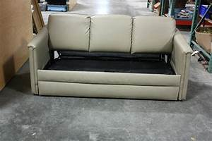 rv furniture used rv flexsteel ultra leather sleeper sofa With rv sofa bed for sale