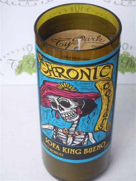 sofa king bueno wine pin by typark candles llc on wine bottle candles