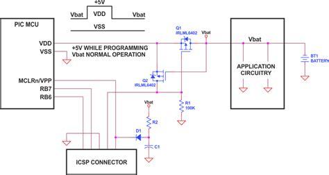 Program Pic Processor Circuit Using Supply