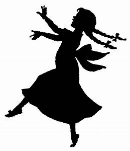 Dancing Girl Silhouette Png Images & Pictures - Becuo ...