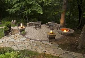 backyard patio ideas with fire pit fire pit design ideas With tips on designing outdoor fire pits