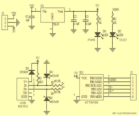 Godown Wiring Diagram Pdf by Attiny Repeatedly Burnout Problem Micro Usb Attiny85 Dev