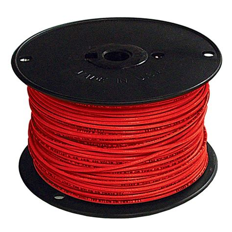 southwire 500 ft 2 red stranded cu simpull thhn wire