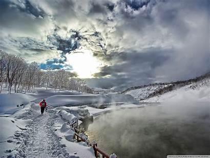 Winter Wallpapers Hike Nature Hiking 4k Desktop