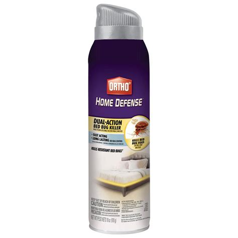 Best Bed Bug Spray Home Depot by Ortho Home Defense Max 18 Oz Bed Bug Aerosol 0192910