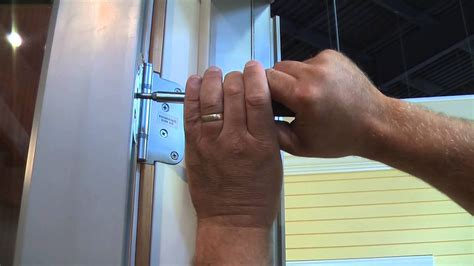 brownell quick fix adjusting integrity  marvin door hinges youtube