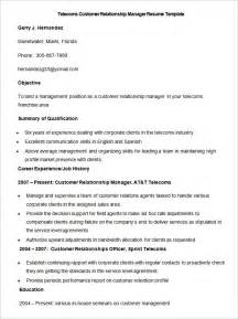 sle resume operations manager telecom