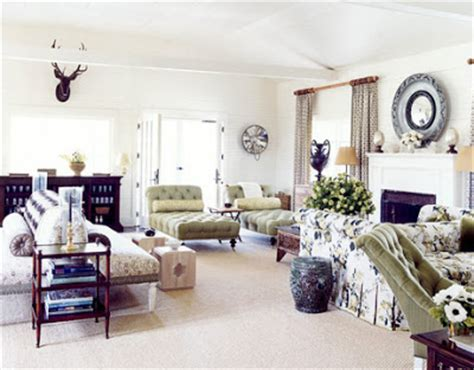 Large Living Room With 2 Seating Areas by Sophisticating Design Obsession One Room