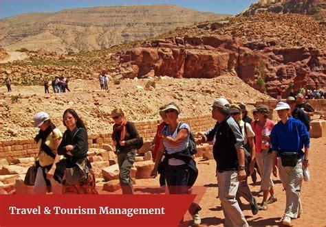 travel tourism management scope careers colleges