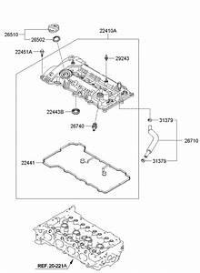 267402g000 - Hyundai Valve