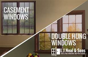replace casement windows  double hung windows