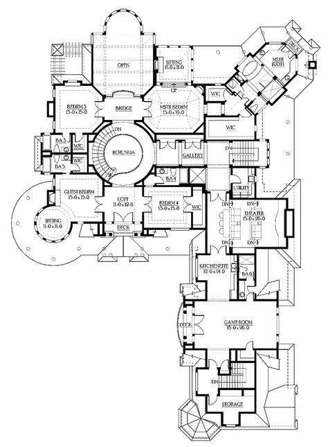 luxury house plans luxury mansion home floor plans mansions luxury homes