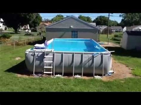 Intex Oval Pool 12×24