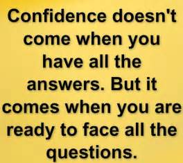Famous Quotes About Having Confidence