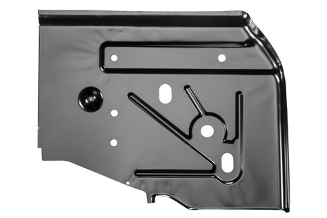 Jeep Floor Pan Thickness by Key Parts 0485 221 Original Replacement Sted Steel