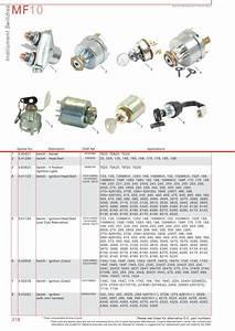 Massey Ferguson Electrics  U0026 Instruments  Page 328