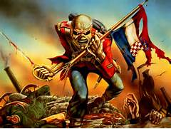 Iron Maiden The Trooper Wallpaper   WallpaperMe   Hintergrundbilder  Iron Maiden Trooper Wallpaper