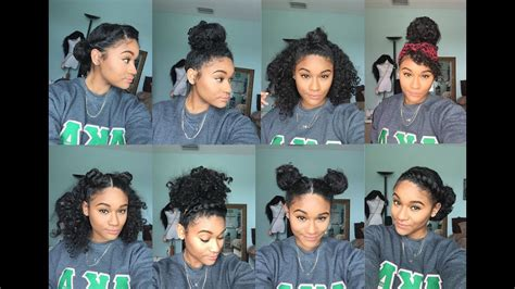 8 Bun Styles For Curly Hair