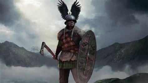 wallpaper vercingetorix total war arena chieftain